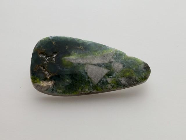 23.6ct Polished Wavellite, Emerald Green Cab (WL23)