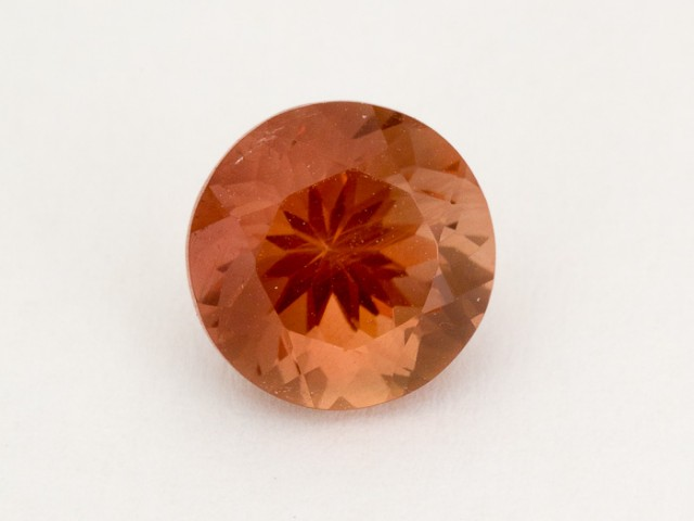 2ct Oregon Sunstone, Red Round (S2043)