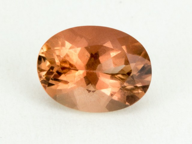 1.2ct Oregon Sunstone, Red/Clear Oval (S2140)