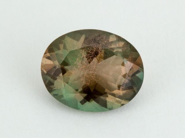 2.4ct Oregon Sunstone, Pink/Green Oval (S2092)