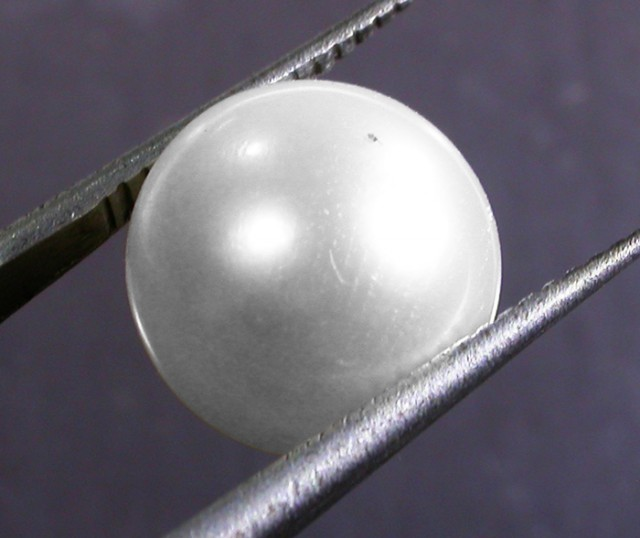 10 - 11 MM WHITE PEARL AAA GRADE ROUND-HIGH LUSTER [PF2357]