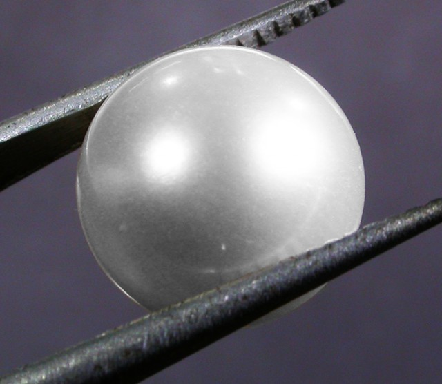 10 - 11 MM WHITE PEARL AAA GRADE ROUND-HIGH LUSTER [PF2360]