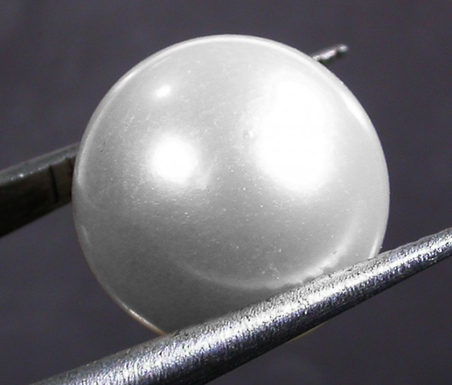 10 - 11 MM WHITE PEARL AAA GRADE ROUND-HIGH LUSTER [PF2361]
