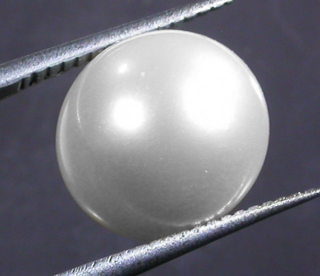10 - 11 MM WHITE PEARL AAA GRADE ROUND-HIGH LUSTER [PF2362]