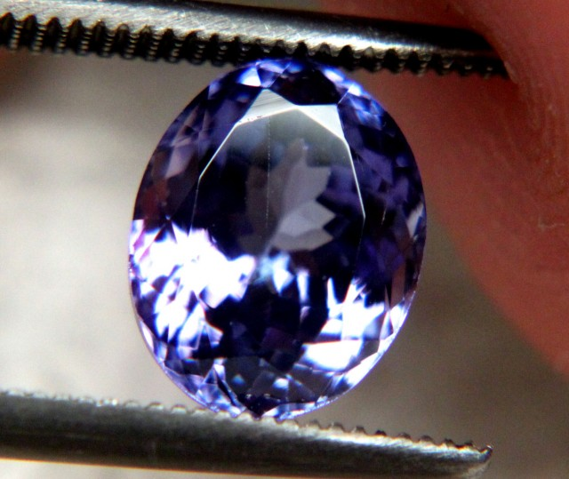 2.44 Ct. IF/VVS1 Purple African Tanzanite - Gorgeous