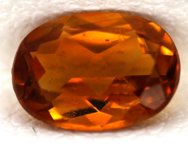CITRINE NATURAL FACETED 0.75 CTS CG-55