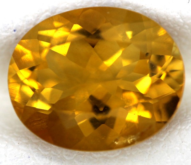 CITRINE NATURAL FACETED 3.15 CTS CG-56-