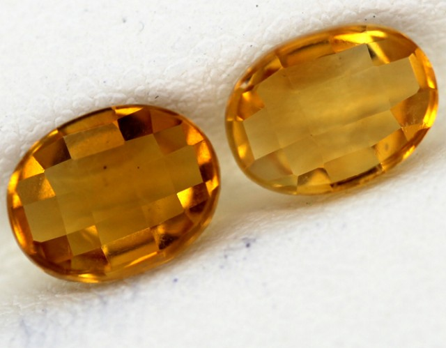 VVS CITRINE NATURAL FACETED 2.45 CTS CG-58