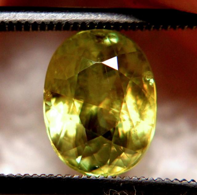 3.0 Carat Vibrant Green  Russian Sphene - VS/SI - Lovely