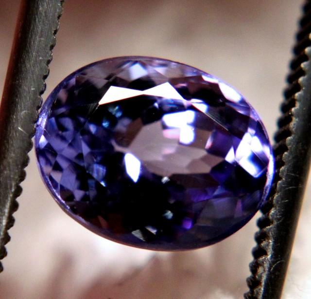 2.32 Carat VVS1 Purple/Blue African Tanzanite - Gorgeous