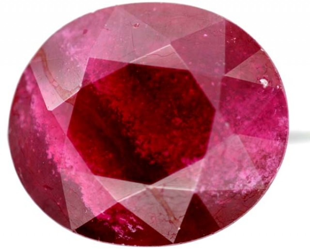 RASPBERRY RED RUBY  20.95 CTS   PG-268