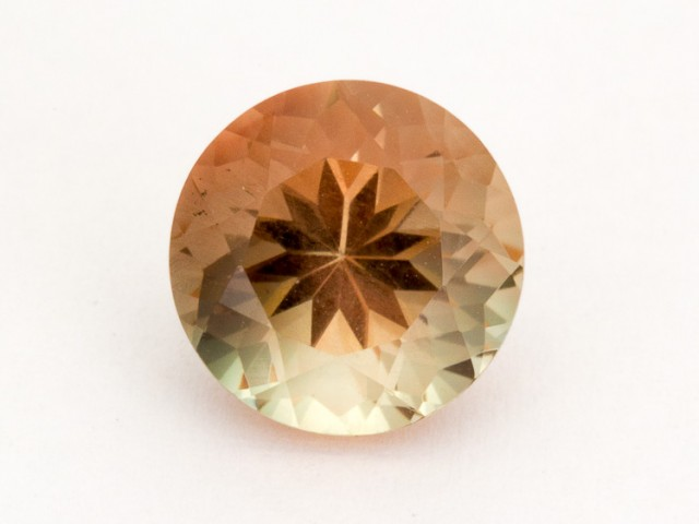 3.7ct Oregon Sunstone, Pink/Green Round (S2163)