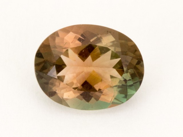 1.7ct Oregon Sunstone, Dichroic/Clear Oval (S2180)