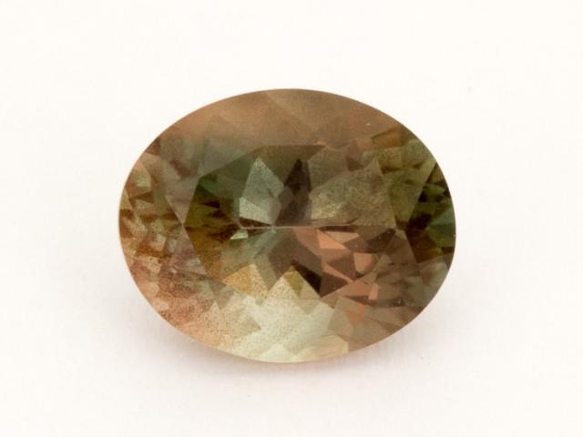 2.8ct Oregon Sunstone, Bicolor Oval (S2182)