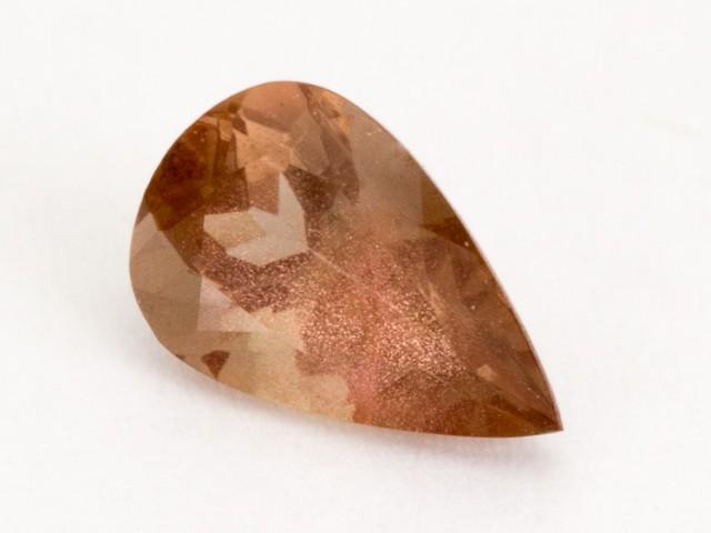 .8ct Oregon Sunstone, Rootbeer Pear (S2208)