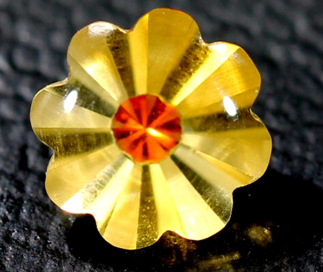 CIRTINE FLOWER CARVING  1.7  CTS  LG-4
