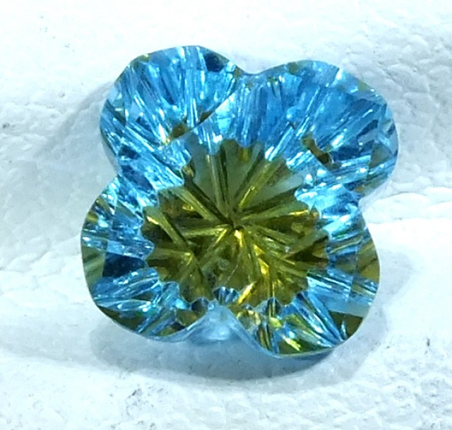 TOPAZ FLOWER CARVING  2.10  CTS  LG-22