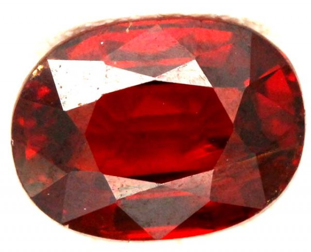 GARNET FACETED STONE  2.1 CTS CG - 277