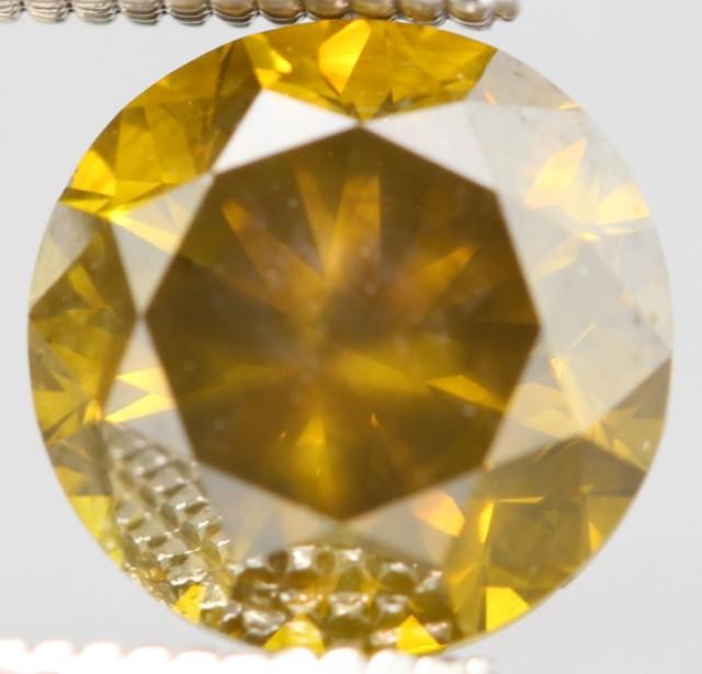{CERTIFICATE} BRILLIANT YELLOW NATURAL DIAMOND 1.533Ct