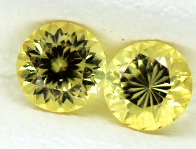 0.33 CTS  CERTIFIED YELLOW SAPPHIRE UNTREATED TBM-108-TRUEBLUEMINERALS