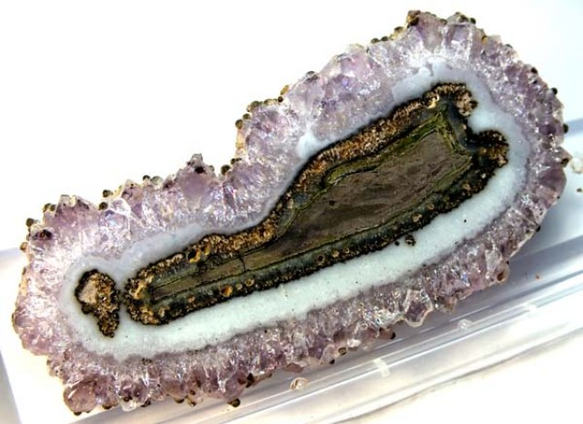 102.15 CTS AMETHYST STALACTITE  FLOWERS  SG-1455