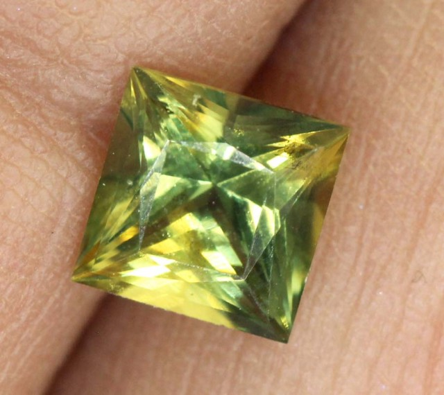 CERTIFIED YELLOW SAPPHIRE UNTREATED 1.06 CTS  TBM-324