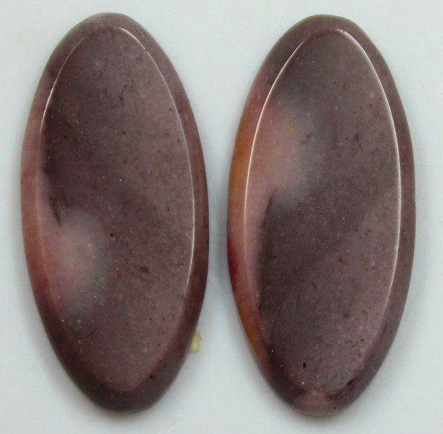 10.65 CTS JASPER PAIR POLISHED STONES GREAT RANGE IN STORE