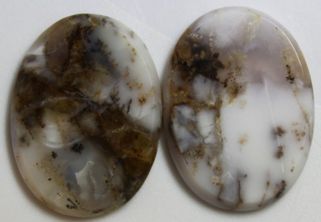29.30 CTS JASPER PAIR POLISHED STONES GREAT RANGE IN STORE
