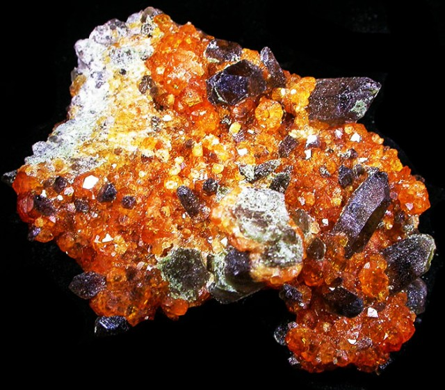 165.00 CTS ORANGE SPESSARTITE SPECIMEN  [MGW3775]