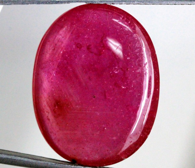 34.10 CTS  RUBY RASBERRY RED   SG-1632