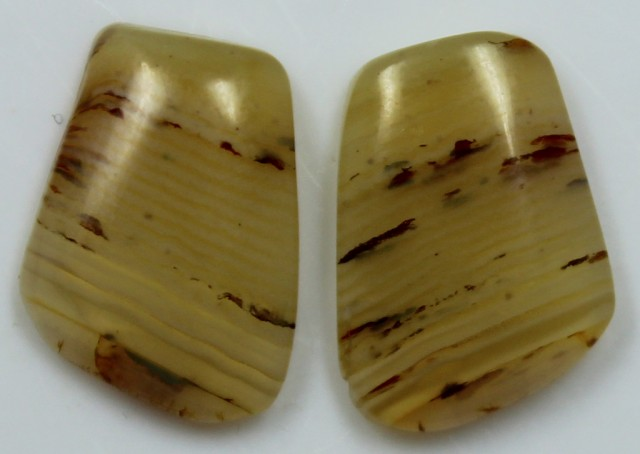 10.00 CTS AGATE PAIR POLISHED STONES GREAT RANGE IN STORE