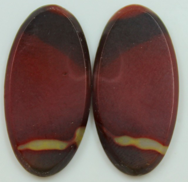25.30 CTS JASPER PAIR POLISHED STONES GREAT RANGE IN STORE