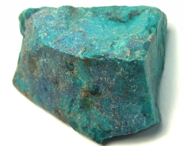 58.5  CTS CHRYSOCOLLA ROUGH    RG-320