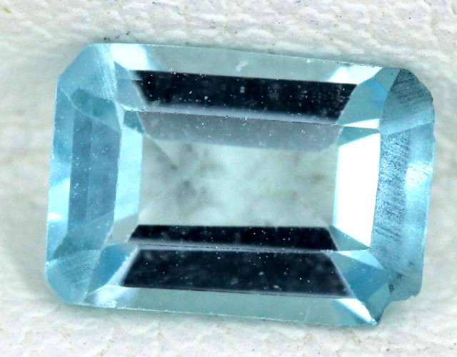 BLUE TOPAZ NATURAL FACETED  1.10 CTS SG-1684