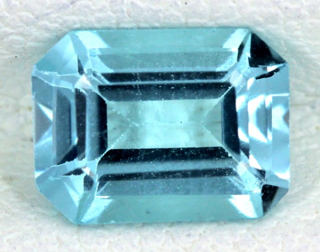 BLUE TOPAZ NATURAL FACETED  1.85 CTS SG-1685