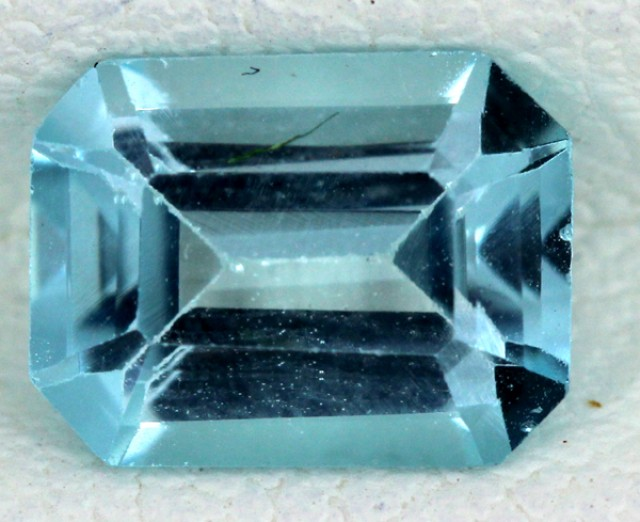 BLUE TOPAZ NATURAL FACETED  1.70 CTS SG-1689