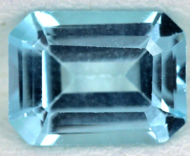 BLUE TOPAZ NATURAL FACETED  1.75 CTS SG-1708