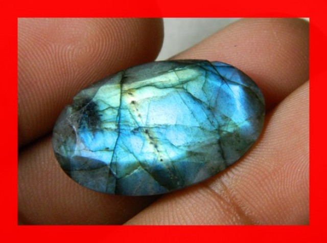 AAA Quality Labradorite Faceted Stone L2