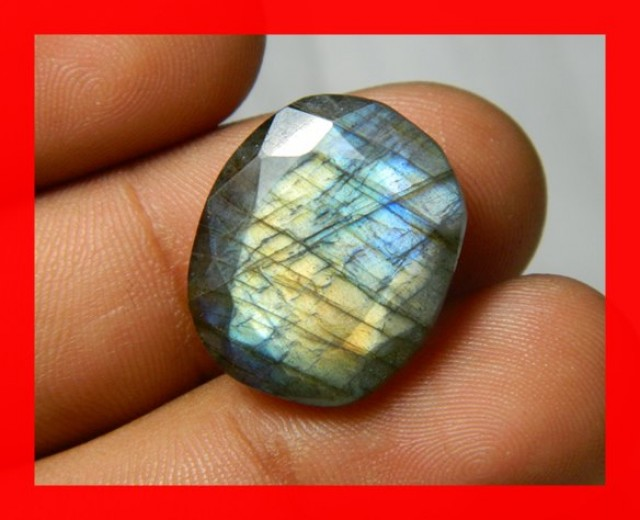 AAA Quality Labradorite Faceted Stone L25