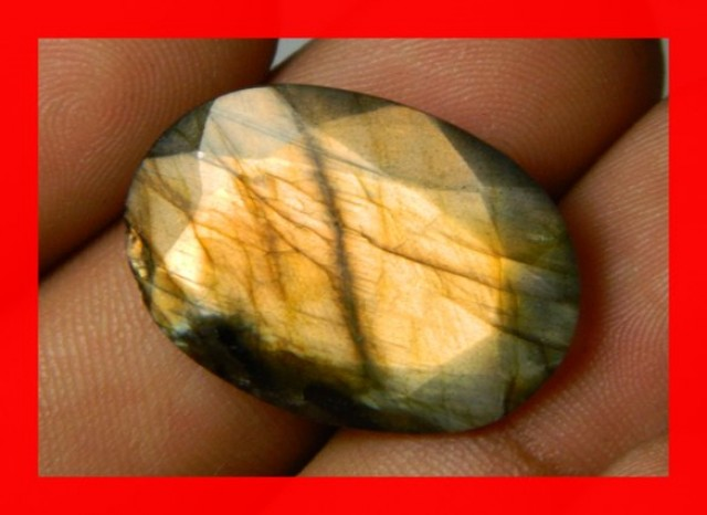 AAA Quality Labradorite Faceted Stone L38