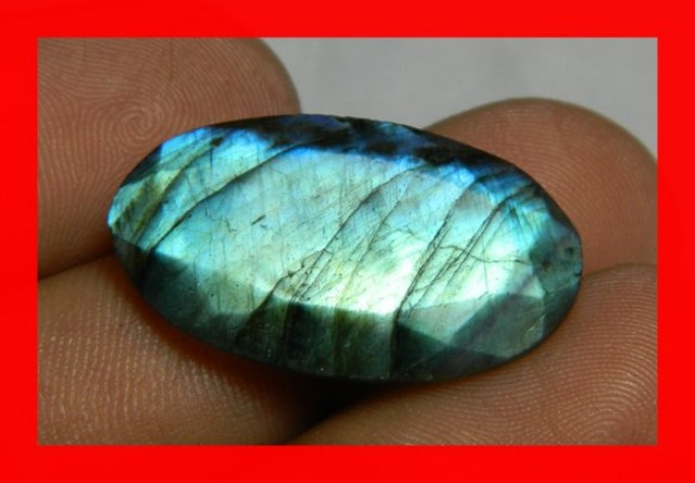 AAA Quality Labradorite Faceted Stone L51