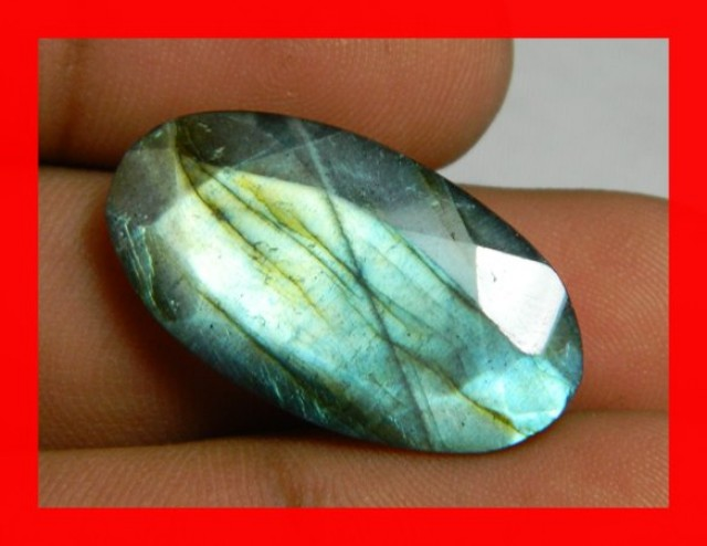 AAA Quality Labradorite Faceted Stone L63