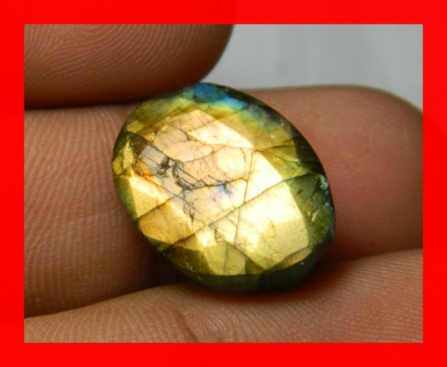 AAA Quality Labradorite Faceted Stone L84