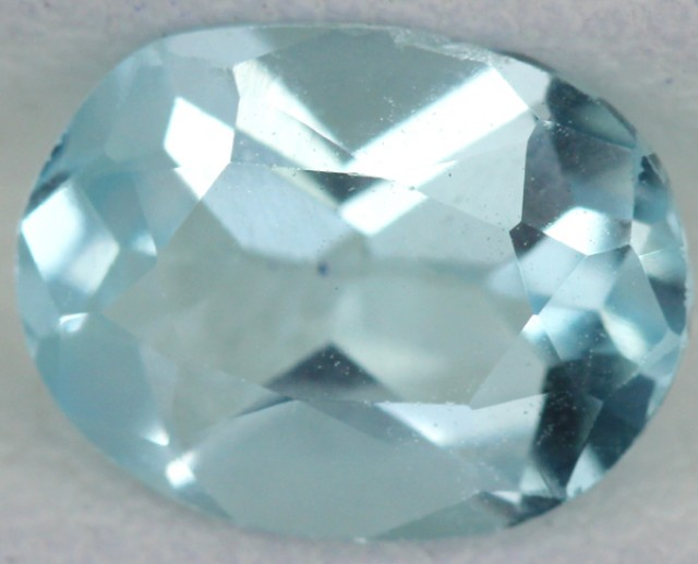 BLUE TOPAZ NATURAL FACETED  2 CTS SG-1793