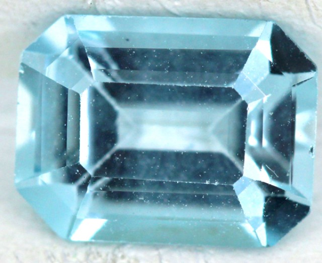 BLUE TOPAZ NATURAL FACETED  1.8 CTS SG-1813