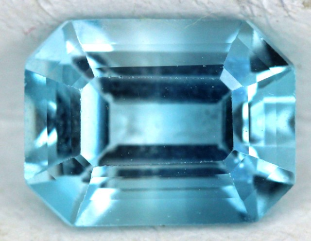 BLUE TOPAZ NATURAL FACETED 1.9  CTS SG-1831