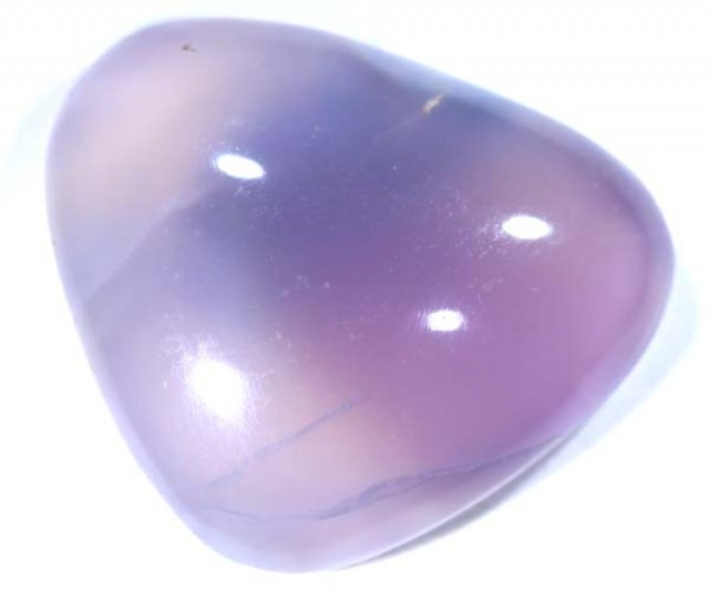 CHALCEDONY NATURAL CUT STONE 10.8 CTS TBG -602