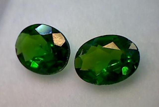 1.4ct Rich Green Chrome Diopside Brilliant Sparks VVS TH29