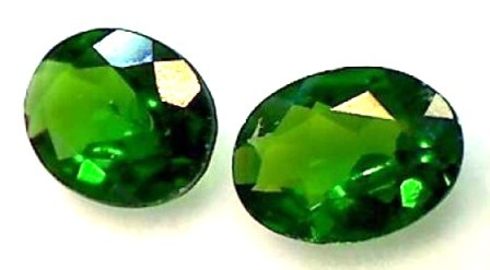 1.4ct Rich Green Chrome Diopside Brilliant Sparks VVS TH29 F95