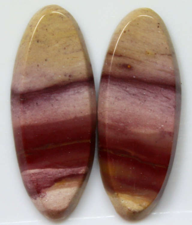 10.70 CTS JASPER PAIR POLISHED STONES GREAT RANGE IN STORE